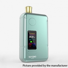 Authentic Wellon Beyond AIO 18650 35W VW Box Mod Pod System Starter Kit 2ml - Mint Green