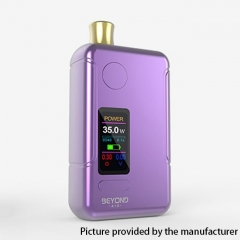 Authentic Wellon Beyond AIO 18650 35W VW Box Mod Pod System Starter Kit 2ml - Purple
