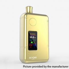 Authentic Wellon Beyond AIO 18650 35W VW Box Mod Pod System Starter Kit 2ml - Gold
