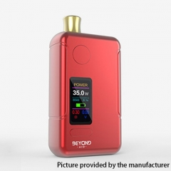 Authentic Wellon Beyond AIO 18650 35W VW Box Mod Pod System Starter Kit 2ml - Red