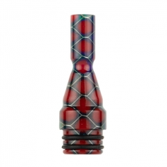 Reewape 510 Resin Replacement Drip Tip 8.5mm AS276S 1pc - Dark Red