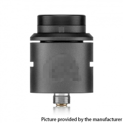 C2MNT V2 Style 24mm RDA Rebuildable Dripping Atomizer w/ BF Pin - Black