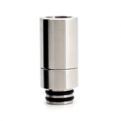 YUHETECH 510 810 in One SS Replacement Drip Tip 1pc - Silver