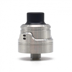 YFTK AirLab RM Style 22mm 316SS RDA Rebuildable Dripping Atomizer w/BF Pin - Silver