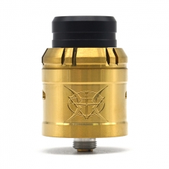 Penodot Style 24mm RDA Rebuildable Dripping Atomizer - Gold