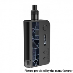 Authentic Vsticking VKsma 25W 1400mAh YiHi Chip Auto Mode TC Mod Kit w/ SMA RADA Dripping Atomizer 3ml - Suede Black
