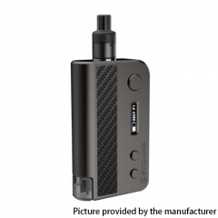 Authentic Vsticking VKsma 25W 1400mAh YiHi Chip Auto Mode TC Mod Kit w/ SMA RADA Dripping Atomizer 3ml - Carbon Gunmetal