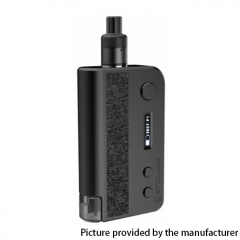 Authentic Vsticking VKsma 25W 1400mAh YiHi Chip Auto Mode TC Mod Kit w/ SMA ADA Dripping Atomizer 3ml - Leather Black