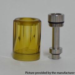 Diamond Cap for Fev v4/4.5 RTA 5ml PEI Version - Yellow