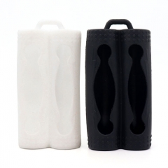 YUHETEC Silicone Case for Dual 18650 Battery  2pcs