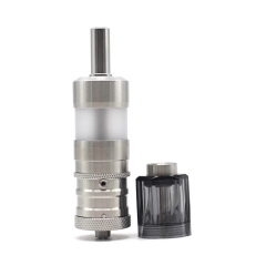 ULTON Fev 4 Style MTL RTA + Diamond Cap for Fev v4/4.5 RTA 3.5ml Short Version PC Version - Silver + Black