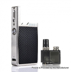 (Ships from Germany)Authentic Lost Vape Orion Q 17W 950mAh Pod System Starter Kit 2ml/1ohm - Silver Weave