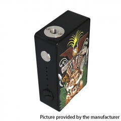 Authentic Hippovape VIVA 245W VW Variable Wattage Box Mod 18650 - Black