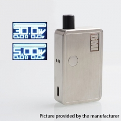 Authentic BMI Micro 30W 1200mAh VW Box Mod 30W Pod System Ultra Portable Starter Kit 2ml - Silver