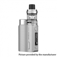 (Ships from HK)Authentic Vaporesso SWAG II 80W VW 18650 Box Mod w/ NRG PE Tank Atomizer Kit 3.5ml - Silver