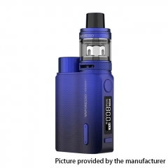 (Ships from HK)Authentic Vaporesso SWAG II 80W VW 18650 Box Mod w/ NRG PE Tank Atomizer Kit 3.5ml - Blue