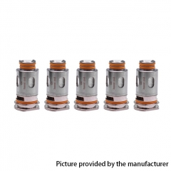 Authentic GeekVape Aegis Replacement Coil for Aegis Boost Pod Kit 0.4ohm/5pcs - Silver