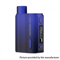 Authentic Vaporesso SWAG II 80W VW 18650 Box Mod - Blue