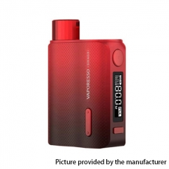 Authentic Vaporesso SWAG II 80W VW 18650 Box Mod - Red