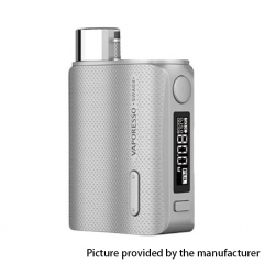 Authentic Vaporesso SWAG II 80W VW 18650 Box Mod - Silver