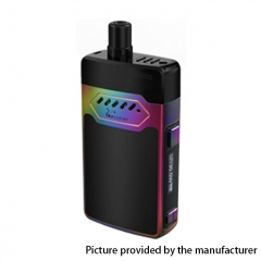 Authentic Hellvape GRIMM 30W 1200mAh VW Box Mod Pod System Starter Kit 3ml/0.7ohm/1.2ohm - Rainbow