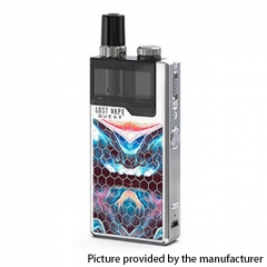 Authentic Lost Vape Orion Q-PRO Q Pro 24W 950mAh Pod System Starter Kit 2ml/0.5ohm/1ohm - SS/ Fantasy