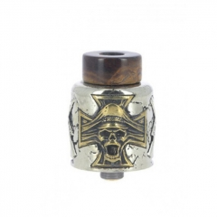 (Ships from Germany)Fumytech Damnation 24mm BF RDA Rebuildable Dripping Atomizer - Silver