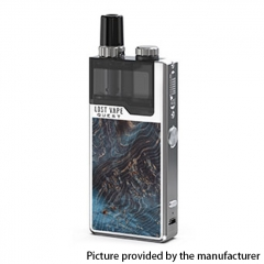 Authentic Lost Vape Orion Q-PRO Q Pro 24W 950mAh Pod System Starter Kit 2ml/0.5ohm/1ohm - Blue/Stabwood