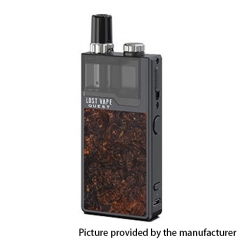 Authentic Lost Vape Orion Q-PRO Q Pro 24W 950mAh Pod System Starter Kit 2ml/0.5ohm/1ohm - Ochre/Stabwood