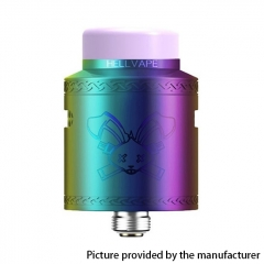 Authentic Hellvape Dead Rabbit V2 24mm RDA Rebuildable Dripping Atomzier w/ BF Pin - Rainbow