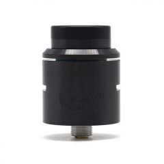 Vazzling C2MNT V2 Style 24mm RDA Rebuildable Dripping Atomizer w/ BF Pin - Black