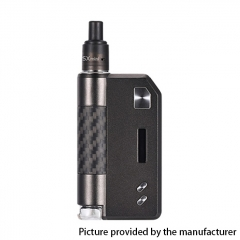 Authentic YiHi SXmini SX Auto DTL / MTL 1400mAh TC VW Box Mod Pod Kit w/ SX-ADA Atomizer 3.5ml - Carbon Gun Metal