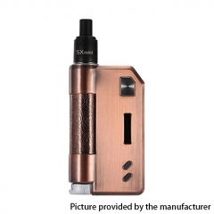 Authentic YiHi SXmini SX Auto DTL / MTL 1400mAh TC VW Box Mod Pod Kit w/ SX-ADA Atomizer 3.5ml - Antique Copper