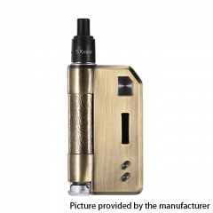 Authentic YiHi SXmini SX Auto DTL / MTL 1400mAh TC VW Box Mod Pod Kit w/ SX-ADA Atomizer 3.5ml - Antique Bronze