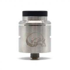 Vazzling C2MNT V2 Style 24mm RDA Rebuildable Dripping Atomizer w/ BF Pin - Silver