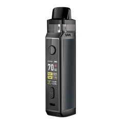 Authentic VOOPOO VINCI X 70W 18650 Mod Pod System Kit 5.5ml/0.3ohm/0.6ohm - Space Grey