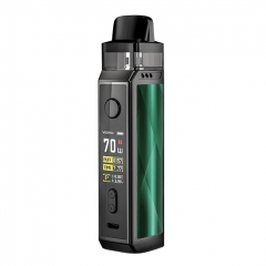 Authentic VOOPOO VINCI X 70W 18650 Mod Pod System Kit 5.5ml/0.3ohm/0.6ohm - Dazzling Green