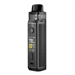 Authentic VOOPOO VINCI X 70W 18650 Mod Pod System Kit 5.5ml/0.3ohm/0.6ohm - Carbon Fiber