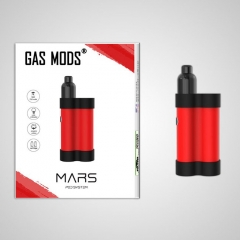 Authentic Gas Mods Mars 15W 750mAh Pod System Starter Kit 2ml/1.5ohm/1.8ohm - Red