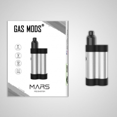 Authentic Gas Mods Mars 15W 750mAh Pod System Starter Kit 2ml/1.5ohm/1.8ohm - Silver