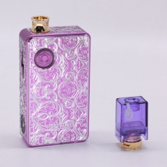 Authentic Ohm Vape AIO 42W 18650 Box Mod Pod System Starter Kit (Engraved Version) - Purple