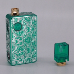 Authentic Ohm Vape AIO 42W 18650 Box Mod Pod System Starter Kit (Engraved Version) - Green