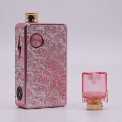 Authentic Ohm Vape AIO 42W 18650 Box Mod Pod System Starter Kit (Engraved Version) - Pink