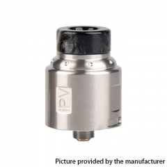 Authentic Pioneer4You IPV Finder 24mm RDA Rebuildable Dripping Atomizer w/ BF Pin - Silver