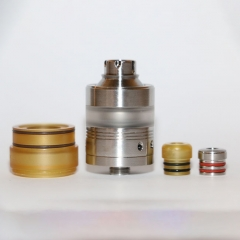 Vazzling Ruby Style 22mm 316SS RTA Rebuildable Tank Atomizer 2ml - Silver