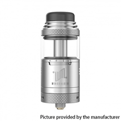 Authentic Vandy Vape Widowmaker 25mm RTA Rebuildable Vape Tank Atomizer 6ml - Silver