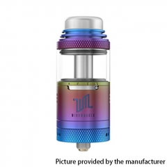 Authentic Vandy Vape Widowmaker 25mm RTA Rebuildable Vape Tank Atomizer 6ml - Rainbow