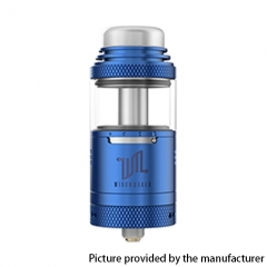 Authentic Vandy Vape Widowmaker 25mm RTA Rebuildable Vape Tank Atomizer 6ml - Blue