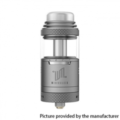 Authentic Vandy Vape Widowmaker 25mm RTA Rebuildable Vape Tank Atomizer 6ml - Frosted Gray