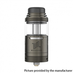Authentic Vandy Vape Widowmaker 25mm RTA Rebuildable Vape Tank Atomizer 6ml - Gun Metal